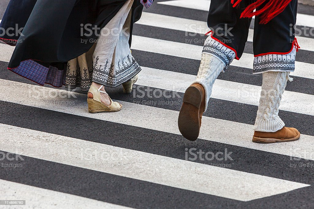 Traditional Clothing, La Palma royalty-free stock photo