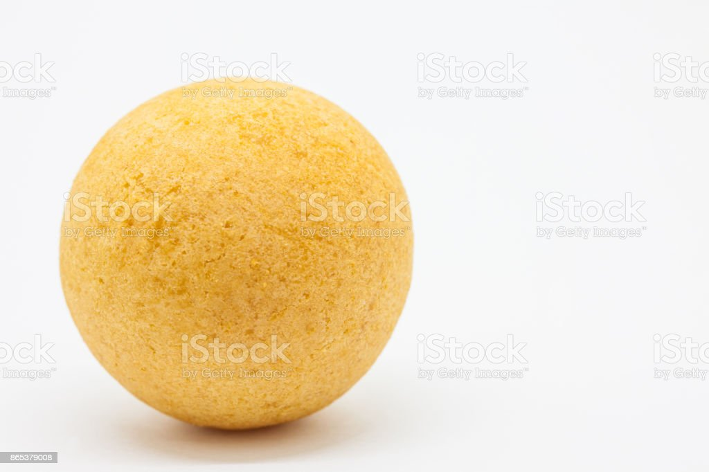 Traditional Colombian buñuelo (Deep Fried Cheese Bread) stock photo