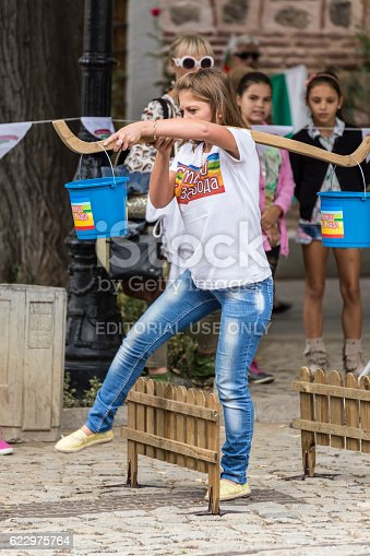 Plovdiv, Bulgaria - September 22, 2016: Traditional competition held in Plovdiv, Bulgaria called