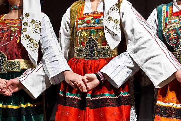 traditional costumes. - traditional ceremony stock pictures, royalty-free photos & images