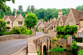 istock Traditional Cotswold village, England 177096616