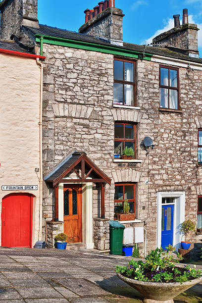 Traditionelle Cottages In Kendal, Cumbria – Foto