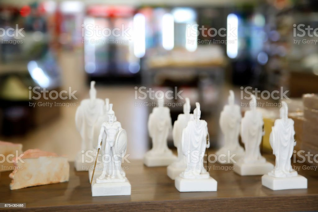 Traditional culture souvenirs stock photo