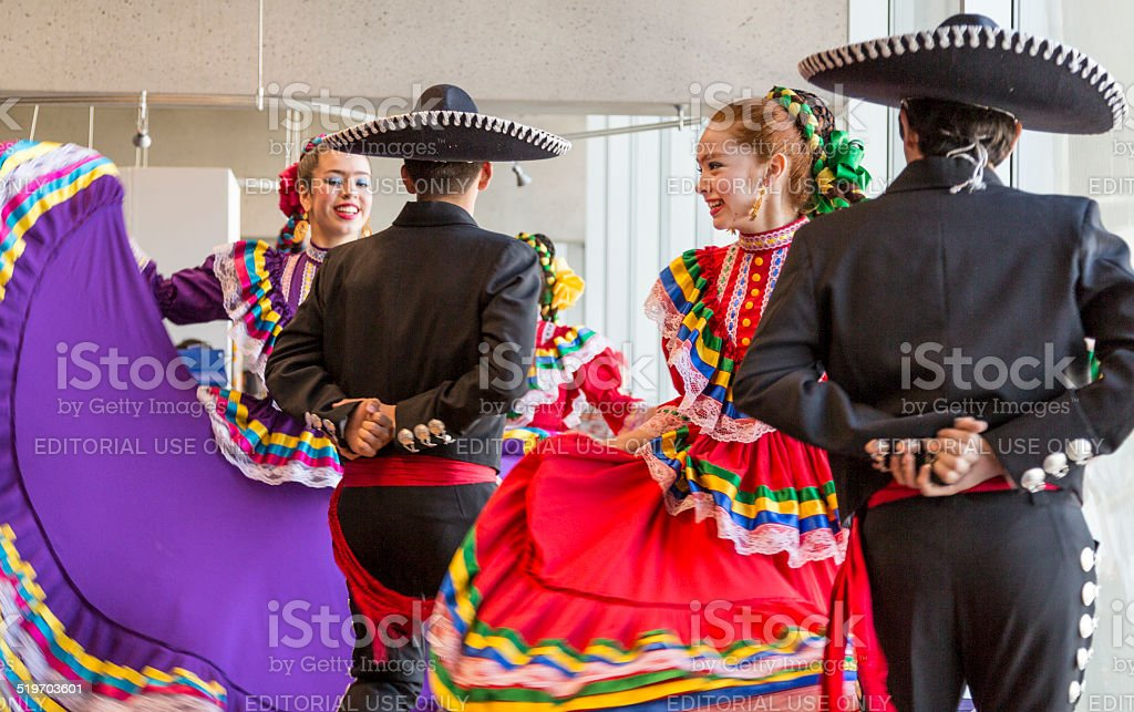 Traditional Dancers stock photo