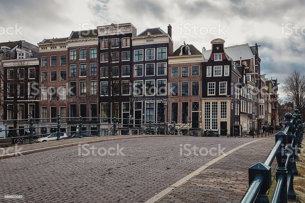 Traditional dances of Amsterdam House stock photo