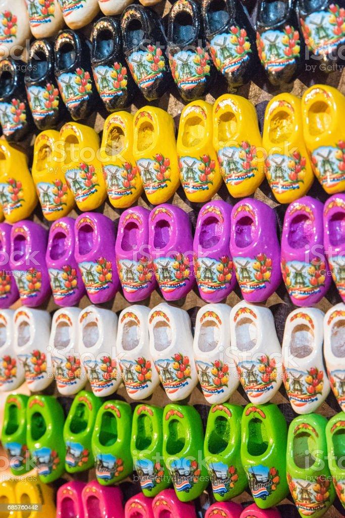Traditional Dutch Clogs royalty free stockfoto