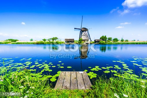 Windmill, Europe, Kinderdijk, Mill, Netherlands