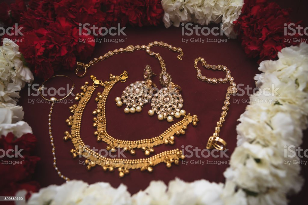 Traditional East Indian Wedding Jewelry Stock Photo More Pictures