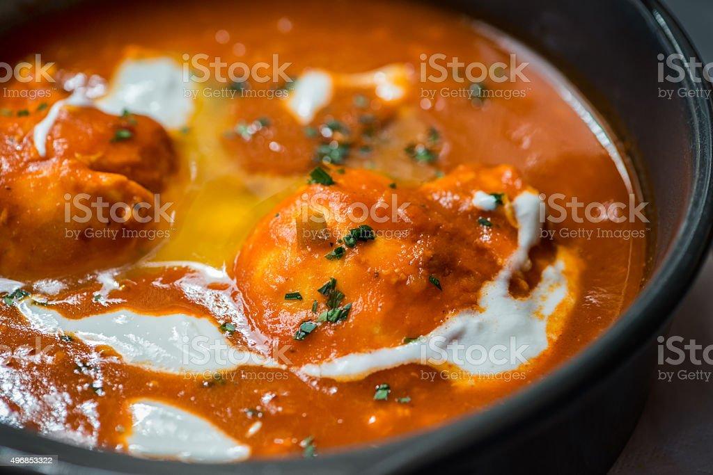 Traditional Emirati Breakfast Cuisine, Posh Beith Temat, Dubai, UAE stock photo