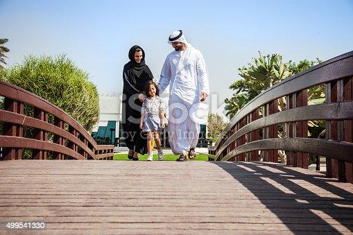 472869308 istock photo Traditional Emirati young family enjoying weekend 499541330
