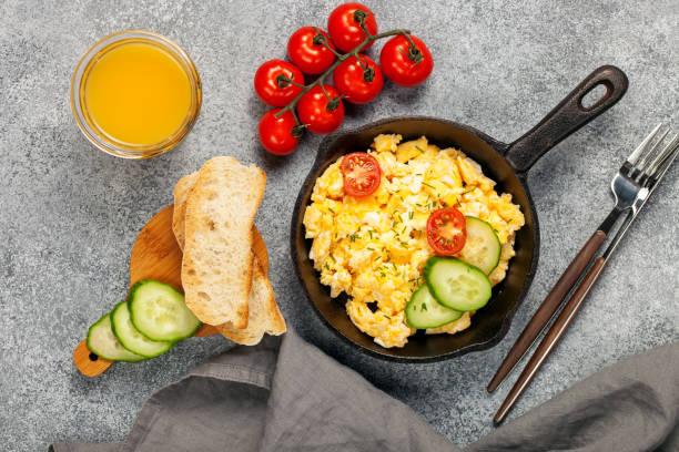 Traditionelles englisches Frühstück. – Foto