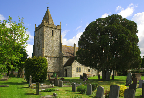 A beautiful church set in the heart of the English countryside
