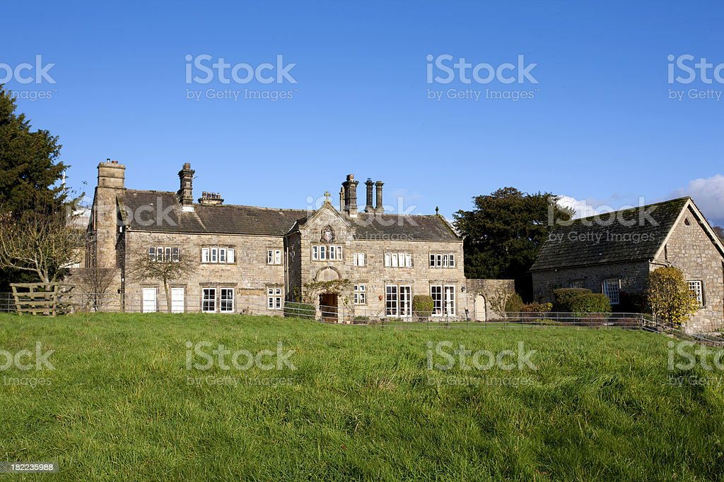 Traditional English Country House stock photo