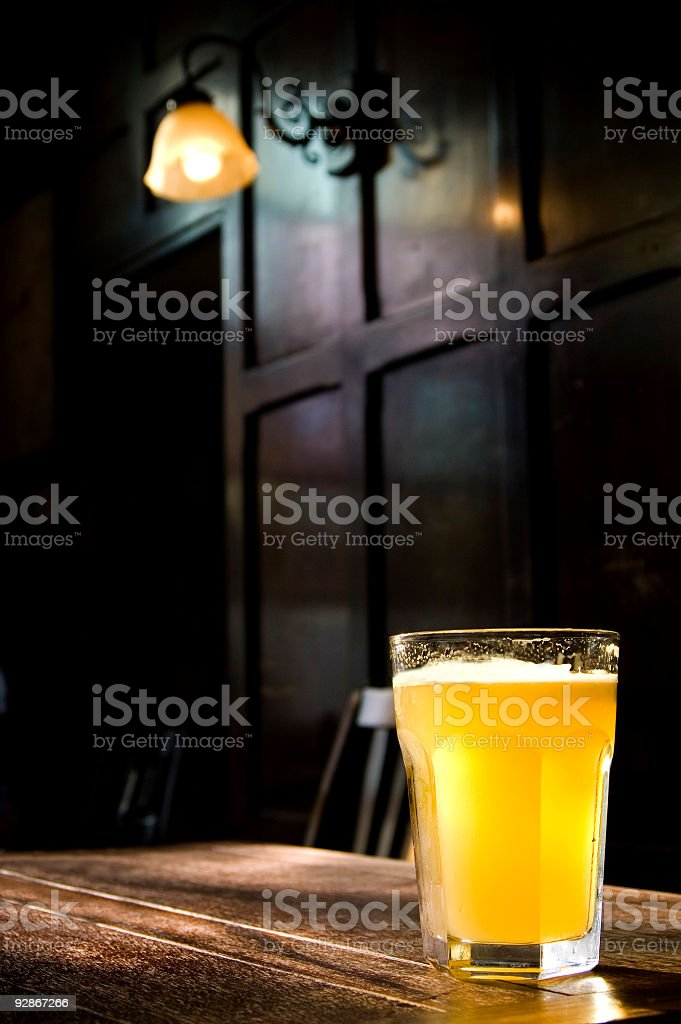 Traditional English Pub  Alcohol - Drink Stock Photo