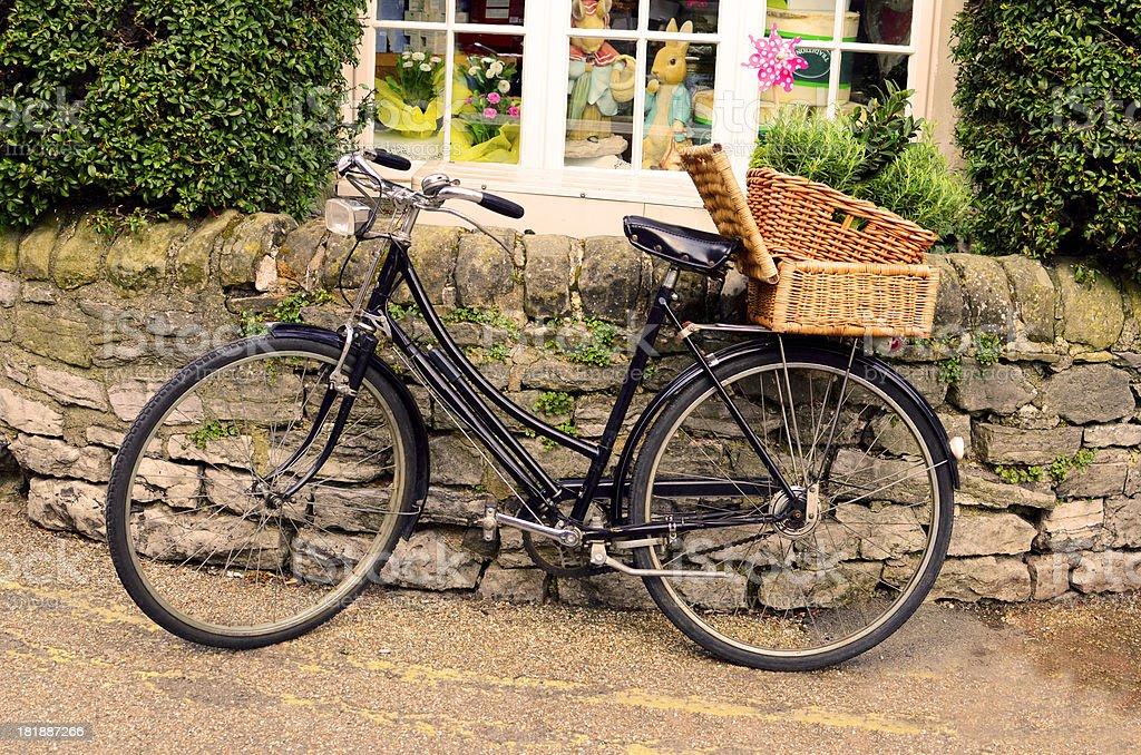 Traditional European Bike royalty-free stock photo