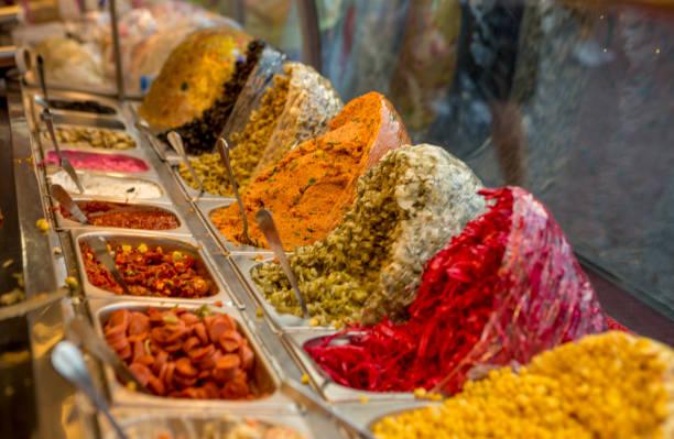 traditionellen Fastfood Material an Ortakoy-Istanbul-Türkei – Foto