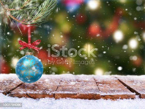 530427918 istock photo Traditional festive Christmas tree decoration 1002794090