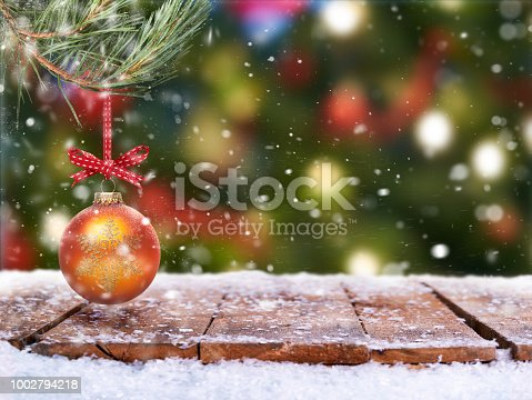 530427918 istock photo Traditional festive Christmas tree decoration 1002794218