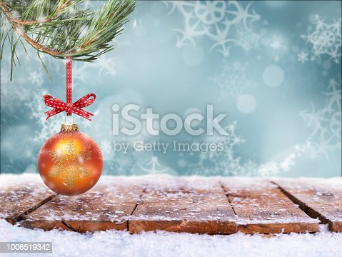 530427918 istock photo Traditional festive Christmas tree decoration 1006519342