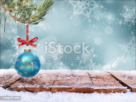 530427918 istock photo Traditional festive Christmas tree decoration 1006521452