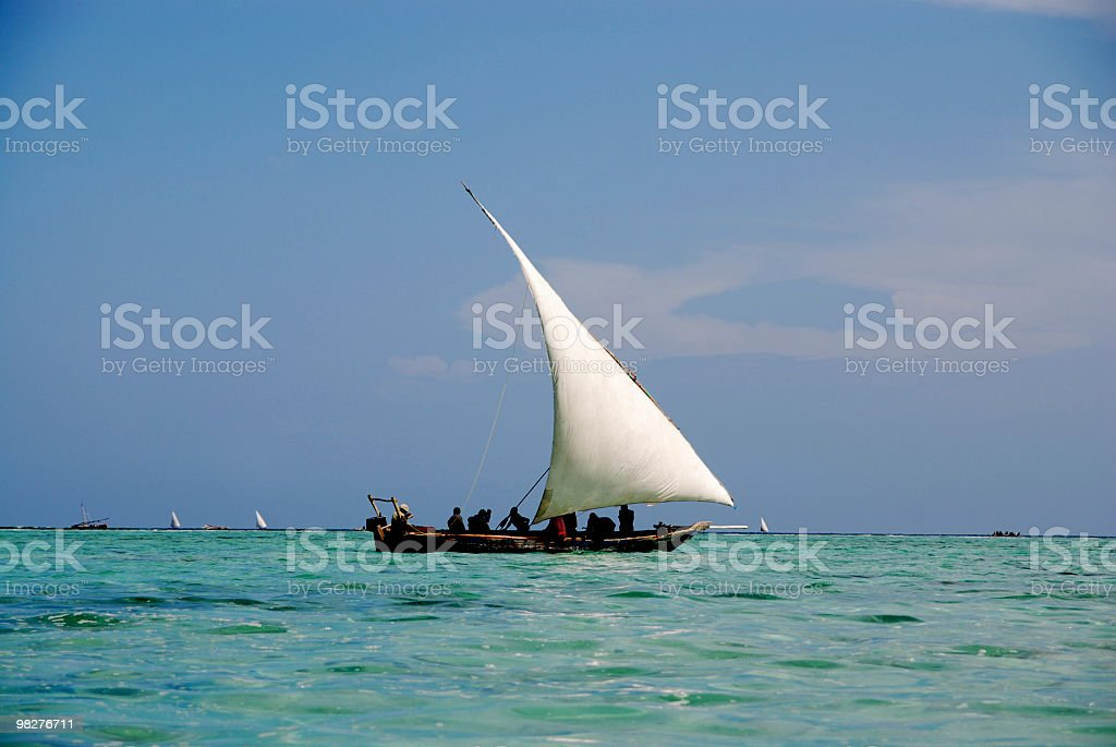 traditional fisherboat royalty-free stock photo