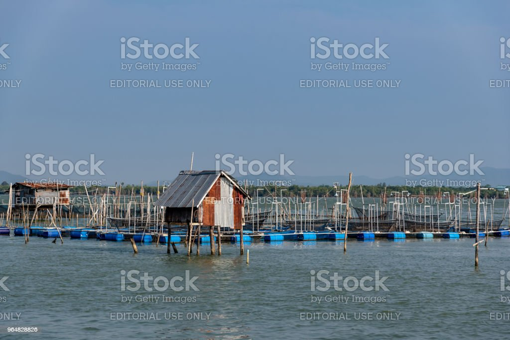 Traditional fisherman hut royalty-free stock photo
