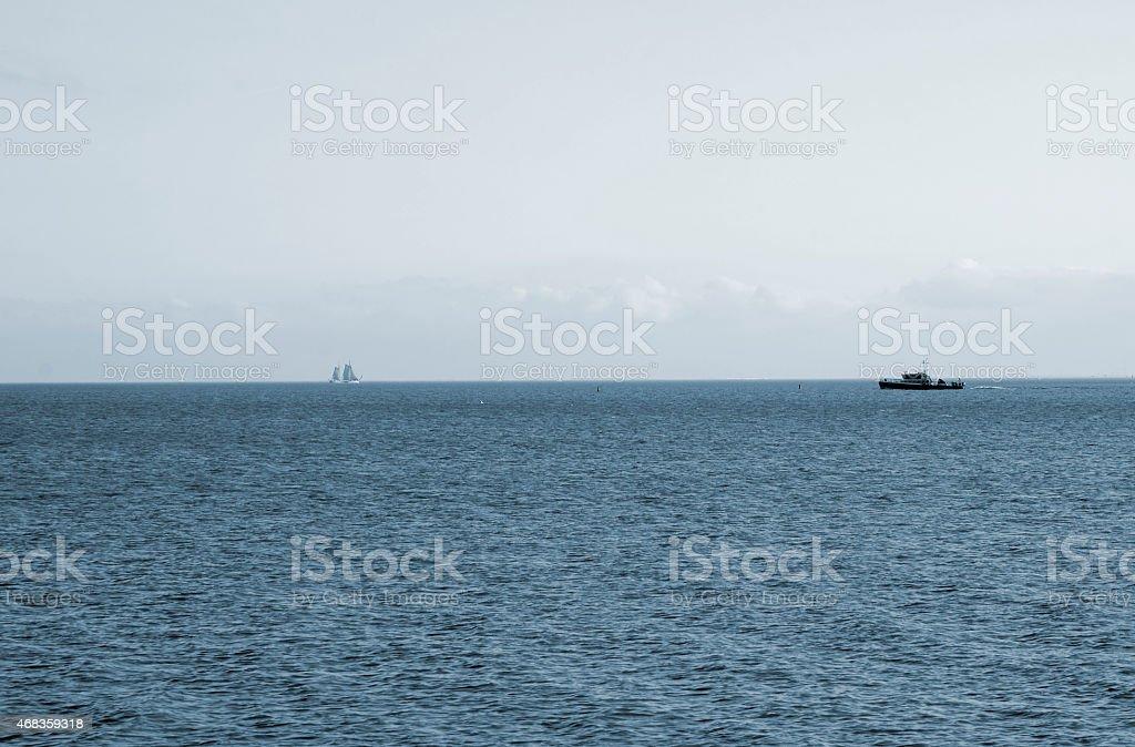 Traditional fishing boat royalty-free stock photo