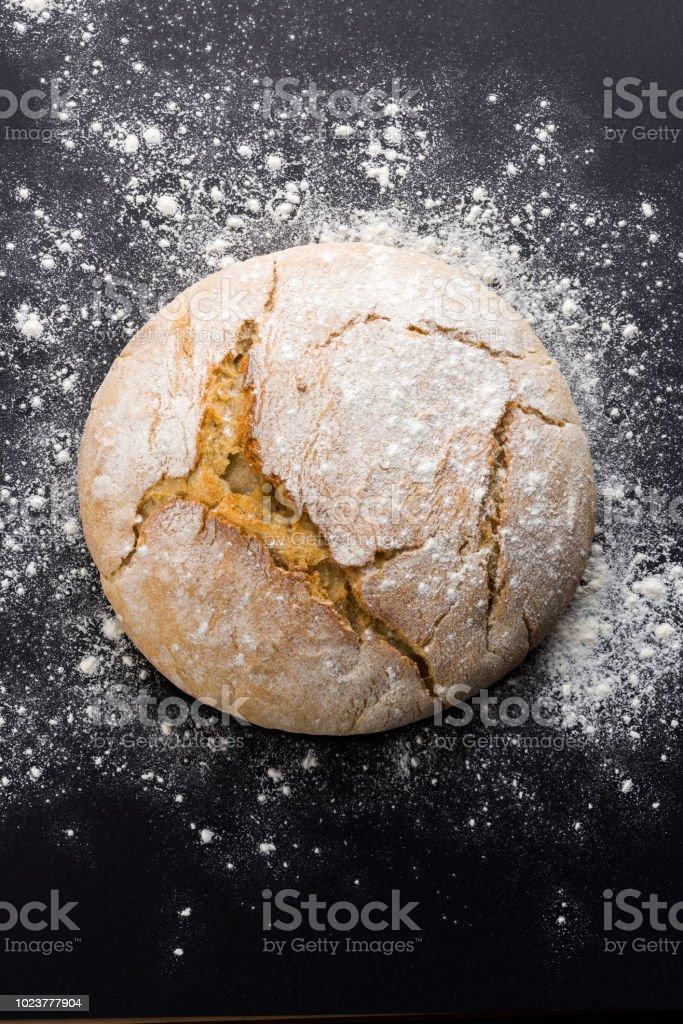 Traditional Fresh bread stock photo