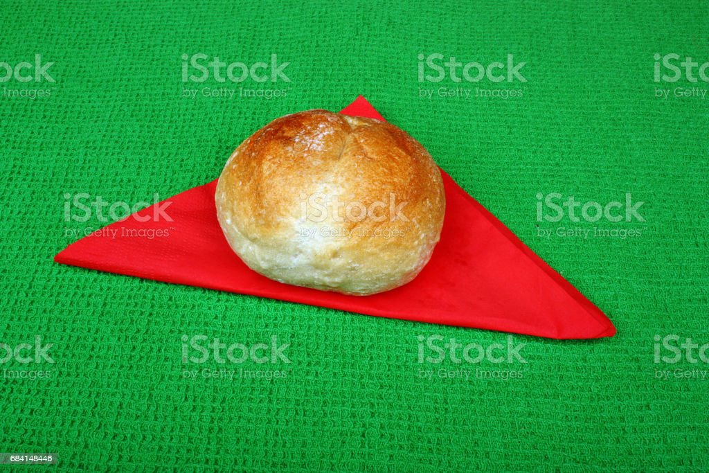 Traditional fresh, crispy bread foto stock royalty-free