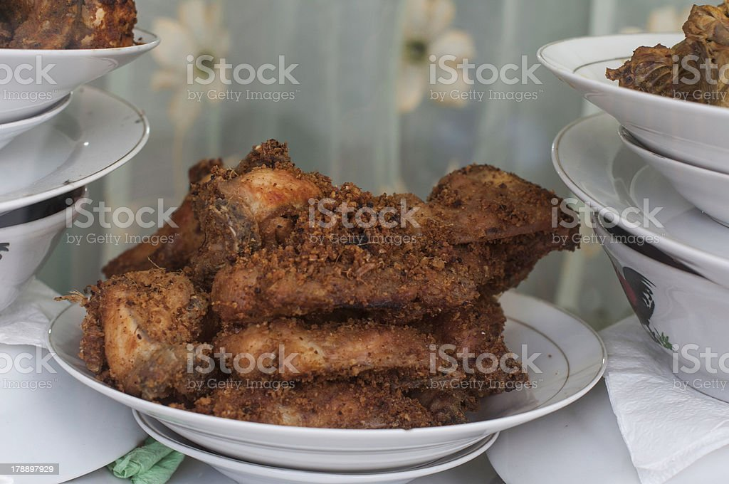 Traditional Fried Chicken royalty-free stock photo