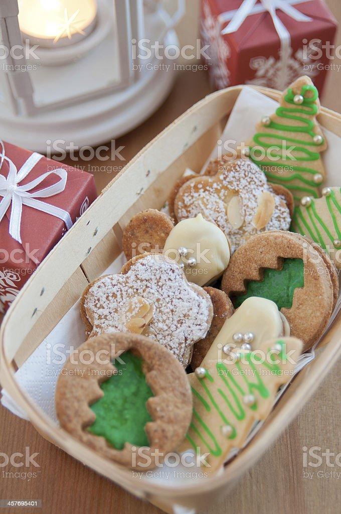 Deutsche Weihnachtsplätzchen.Traditionelle Deutsche Weihnachtsplätzchen Stockfoto Und Mehr Bilder