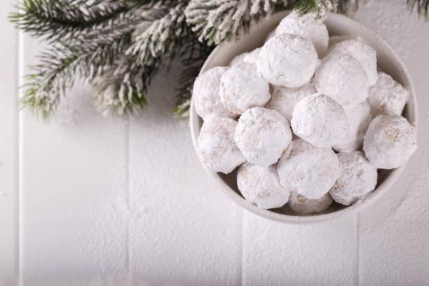 Traditionelle griechische Weihnachtsplätzchen – Foto