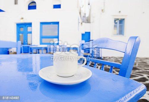 istock Traditional greek coffee 518143492