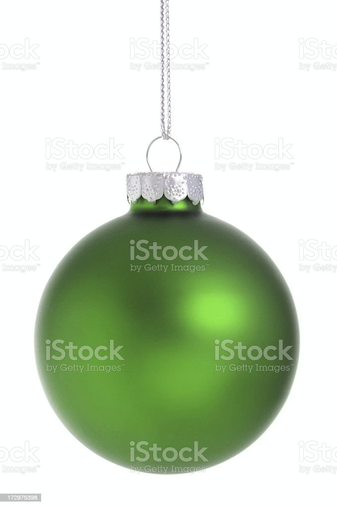 Traditional Green Ornament royalty-free stock photo