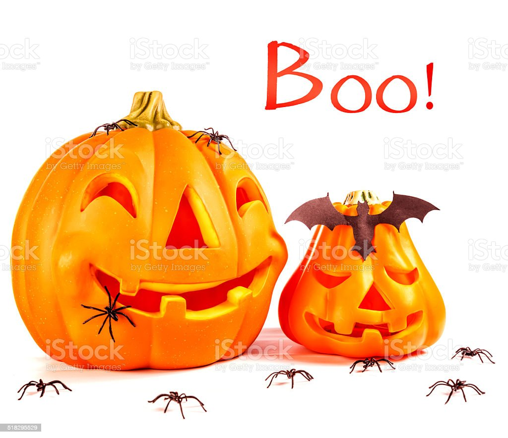 Traditional Halloween decoration stock photo