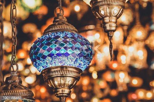 Traditional handmade Turkish lanterns