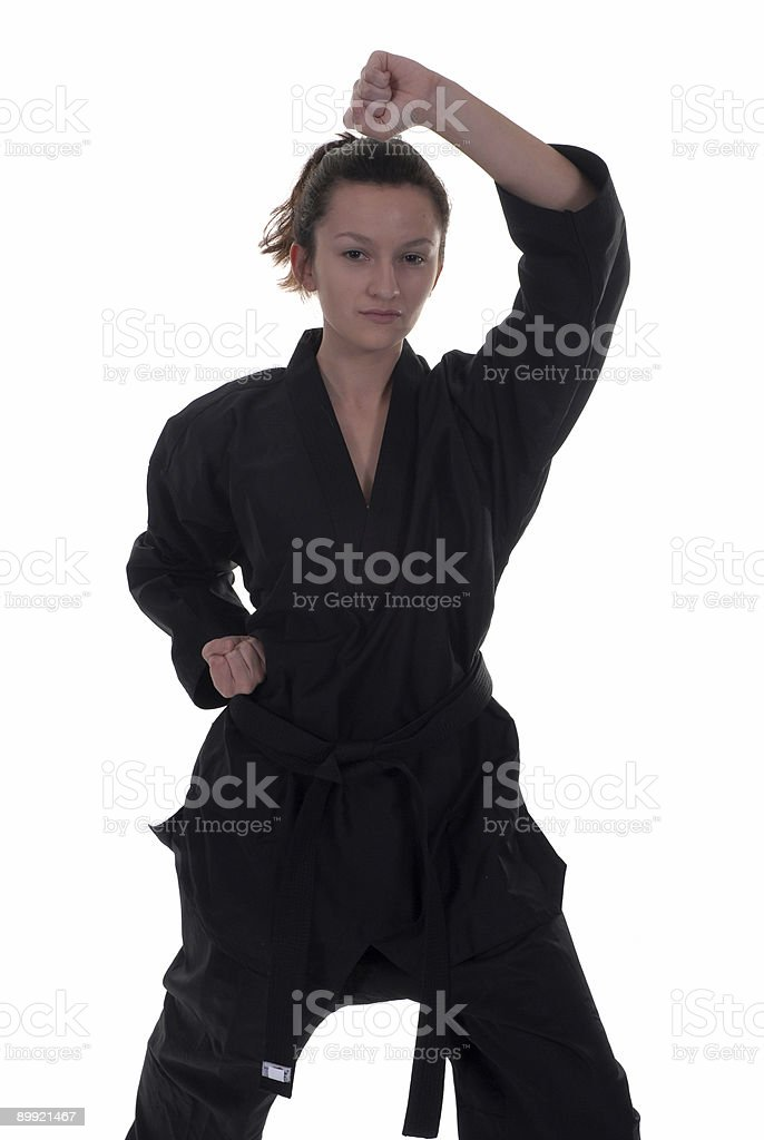 Traditional high block stock photo