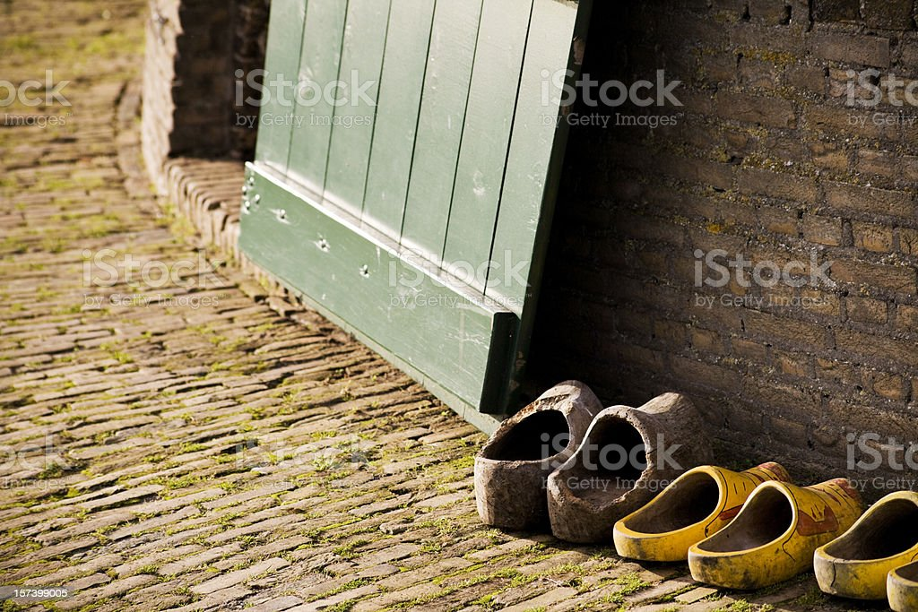 Traditional Holland Doorstep royalty-free stock photo