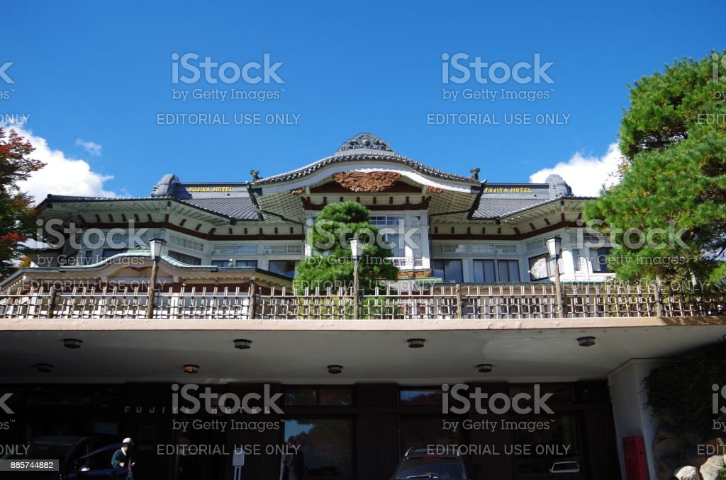 Traditional hotel in Japan - foto stock