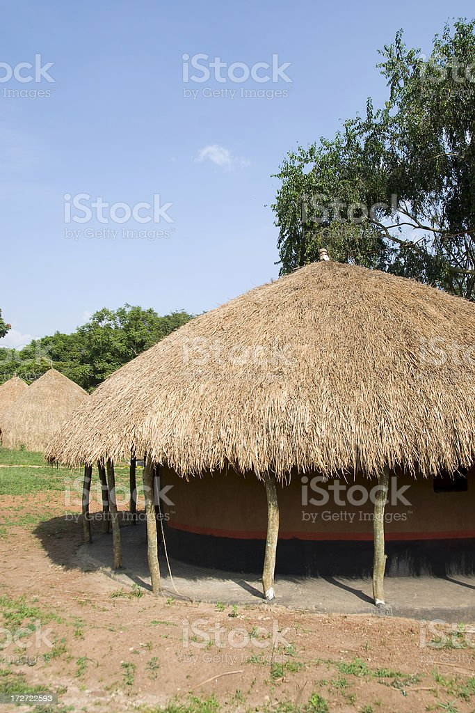 Traditional housing royalty-free stock photo