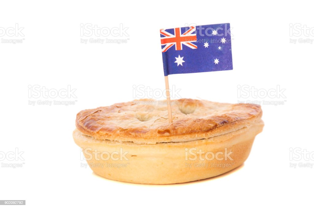 Traditional Iconic Australian Foods stock photo