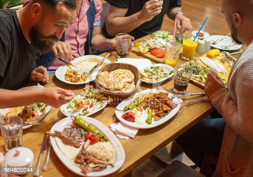 Traditional Iftar Dinner Stock Photo & More Pictures of Adult