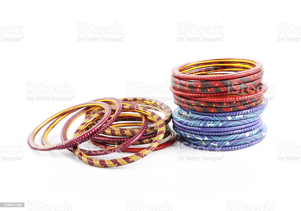 Traditional Indian Bangles Stock Photo - Download Image Now