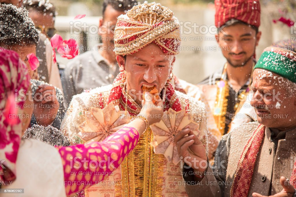 Traditional Indian Wedding Royalty Free Stock Photo