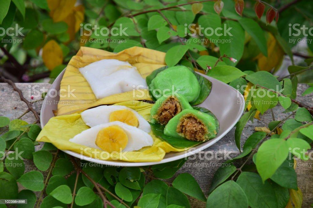Traditional Indonesian Snack Bugis And Nagasari Stock Photo Download Image Now Istock