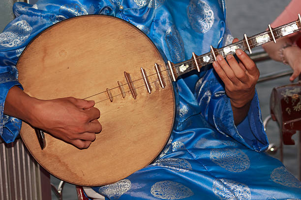 traditional instruments stock photo