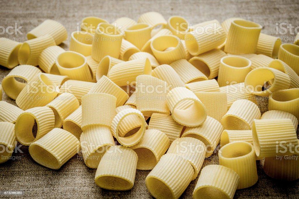 Traditional Italian cuisine. Pasta royalty-free stock photo