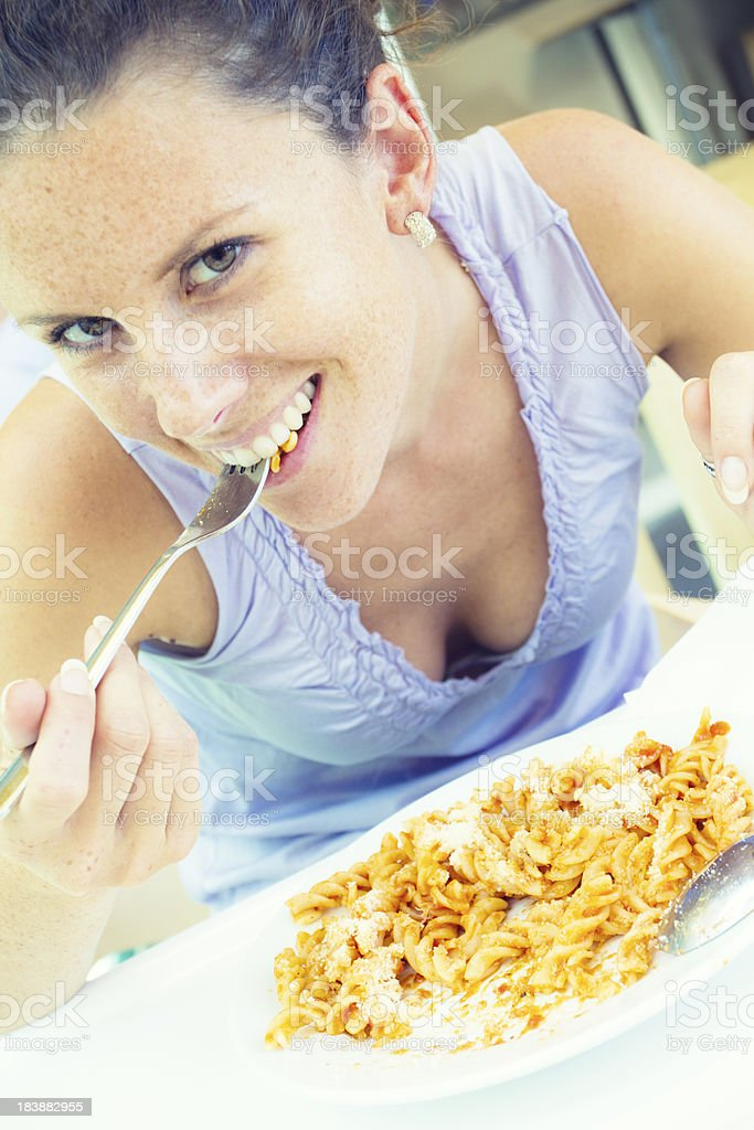 traditional italian lunch royalty-free stock photo