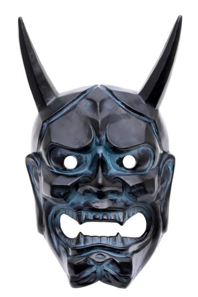Masque de démon japonais traditionnel - Photo