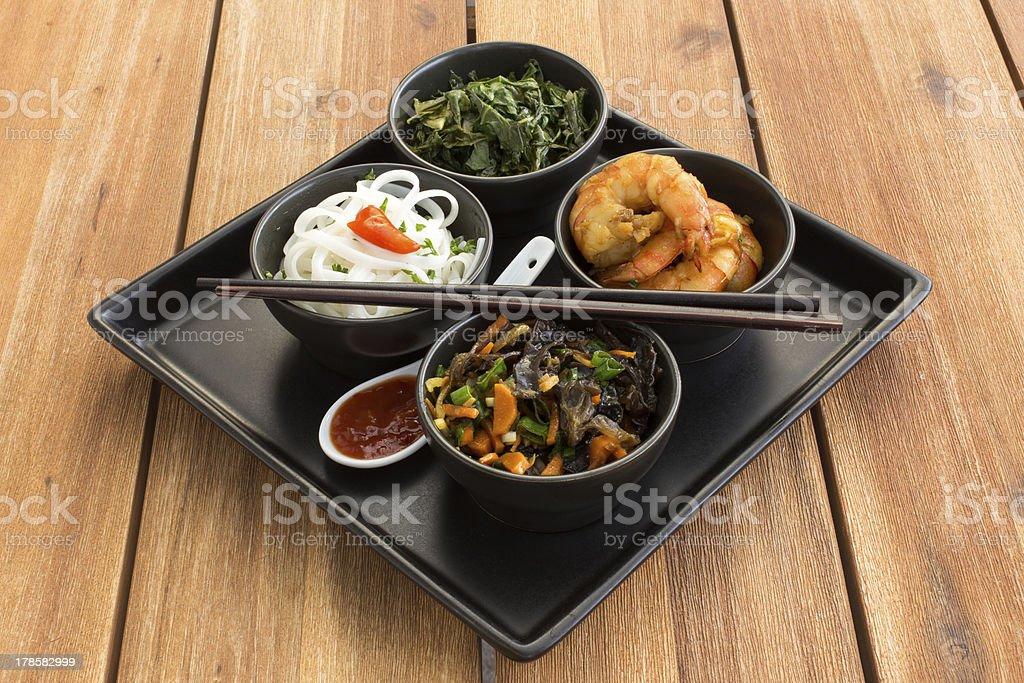 Traditional japanese dish royalty-free stock photo